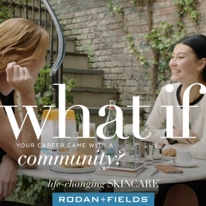 WHAT IF YOUR CAREER CAME WITH A COMMUNITY